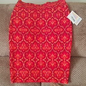 NWT'S Lularoe Floral Cassie Pencil Skirt Small